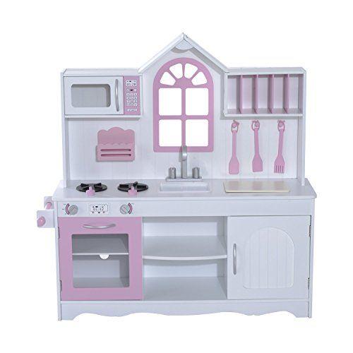 Tz D1441 Kinderkuche Spielkuche Aus Holz Fur Kinder Dieses Holz
