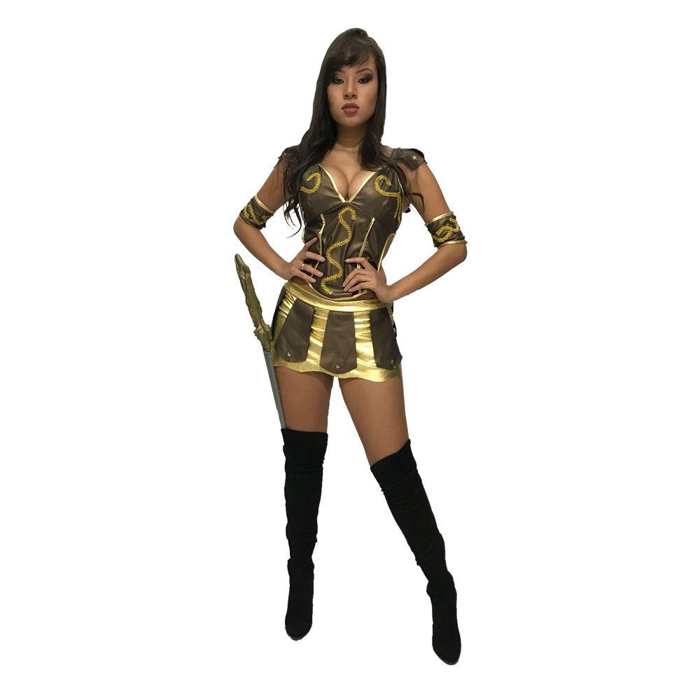 ae281f9d9 Fantasia Xena A Princesa Guerreira Carnaval Feminina Adulto Hércules  Cosplay Geek Nerd
