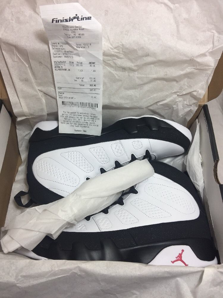 a319fe2ccb2447 Nike Air Jordan 9 IX Retro Space Jam Playoff OG 11.5 302370-112 Deadstock  New  Nike  AthleticSneakers