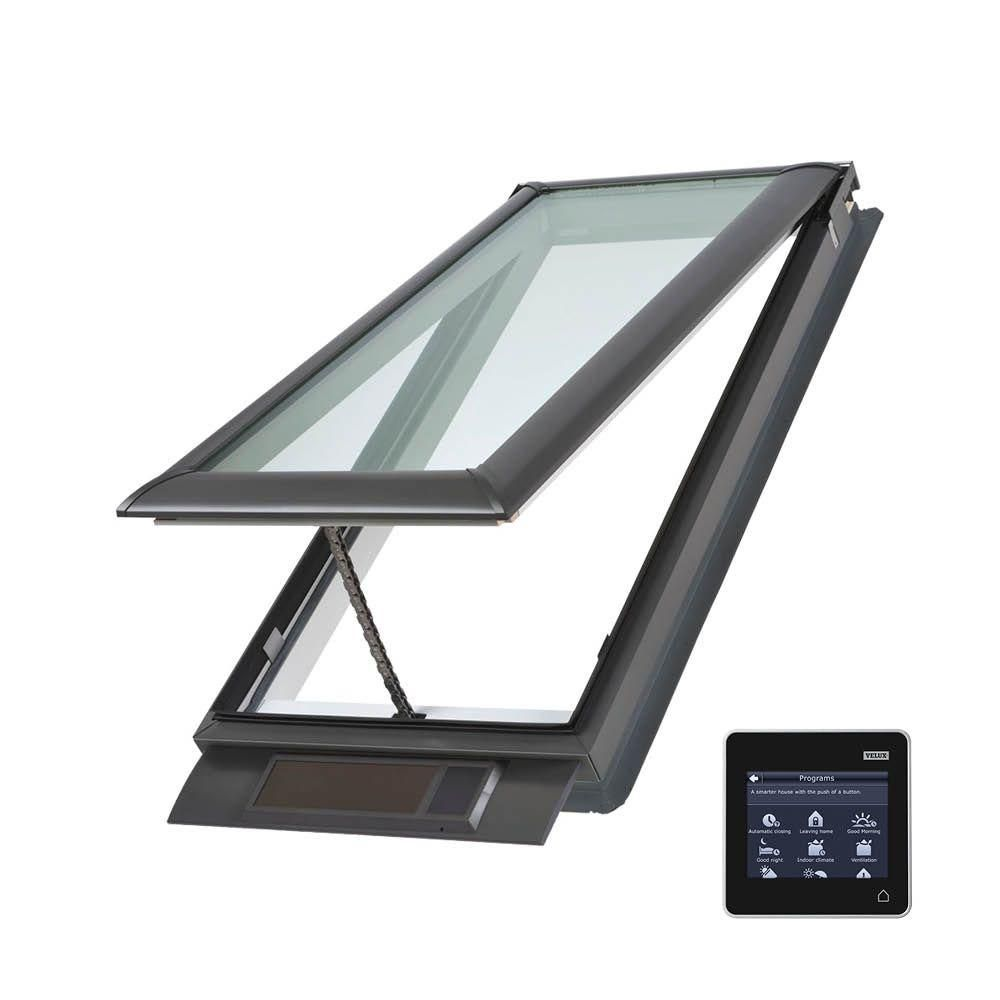 VELUX x in Solar Powered Fresh Air Venting DeckMount