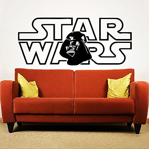 Wandtattoo Star Wars Darth Vader Fototapete Vinyl Aufkleber - wandtattoo fürs schlafzimmer