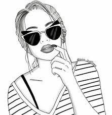 Imagen Relacionada Menina Tumblr Desenho Esboco De Menina