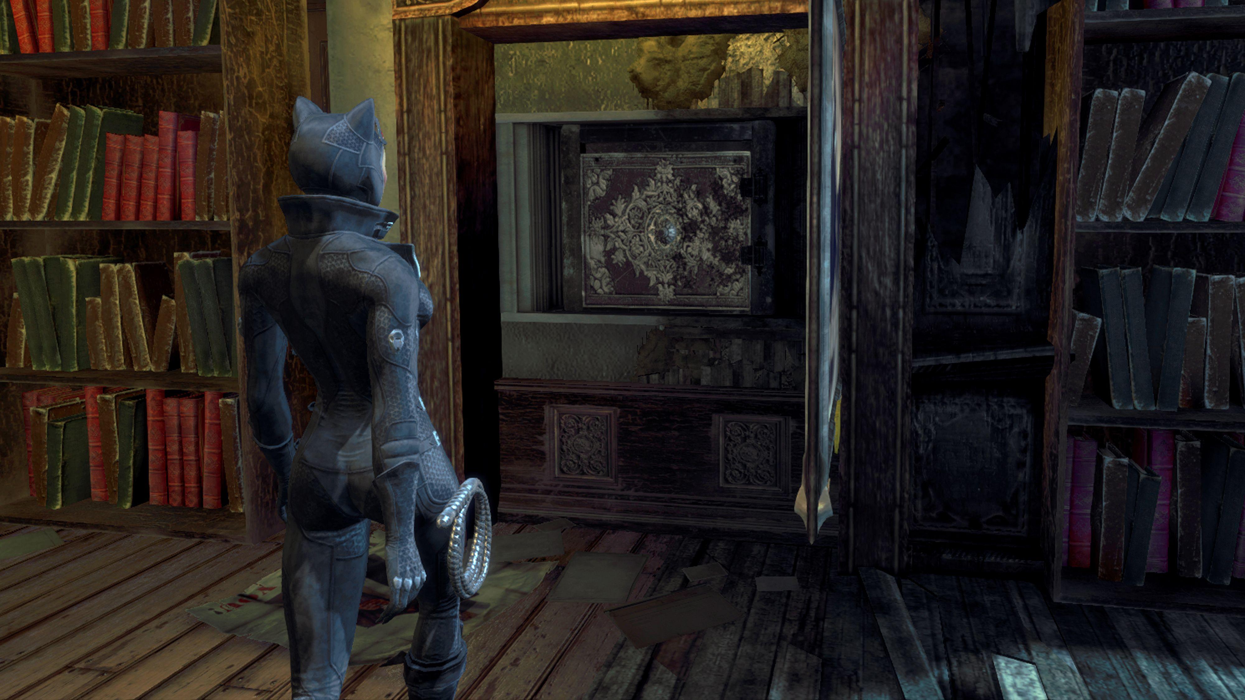 Batman Arkham City, the Catwoman epilogue, retrieving her