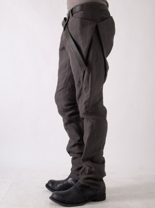 · · scars Vestirse Japanese Ropa failure Paper Washi 8 Pants imperfections and Devoa Pocket EUdZwZ