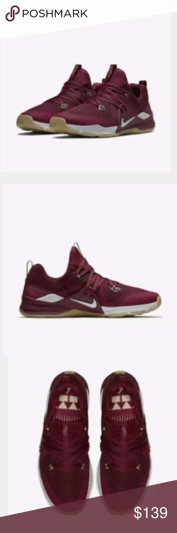 c9670d1930b2 Nike Florida State Seminoles Zoom Shoes 7 Nike Florida State Seminoles Zoom  Train Command College Shoes Nike Shoes Athletic Shoes