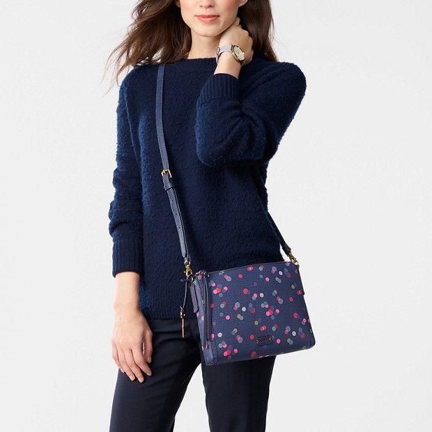 4810451d013c Emma EW Crossbody - Fossil | Threads | Fashion, Purses, Shoulder bag