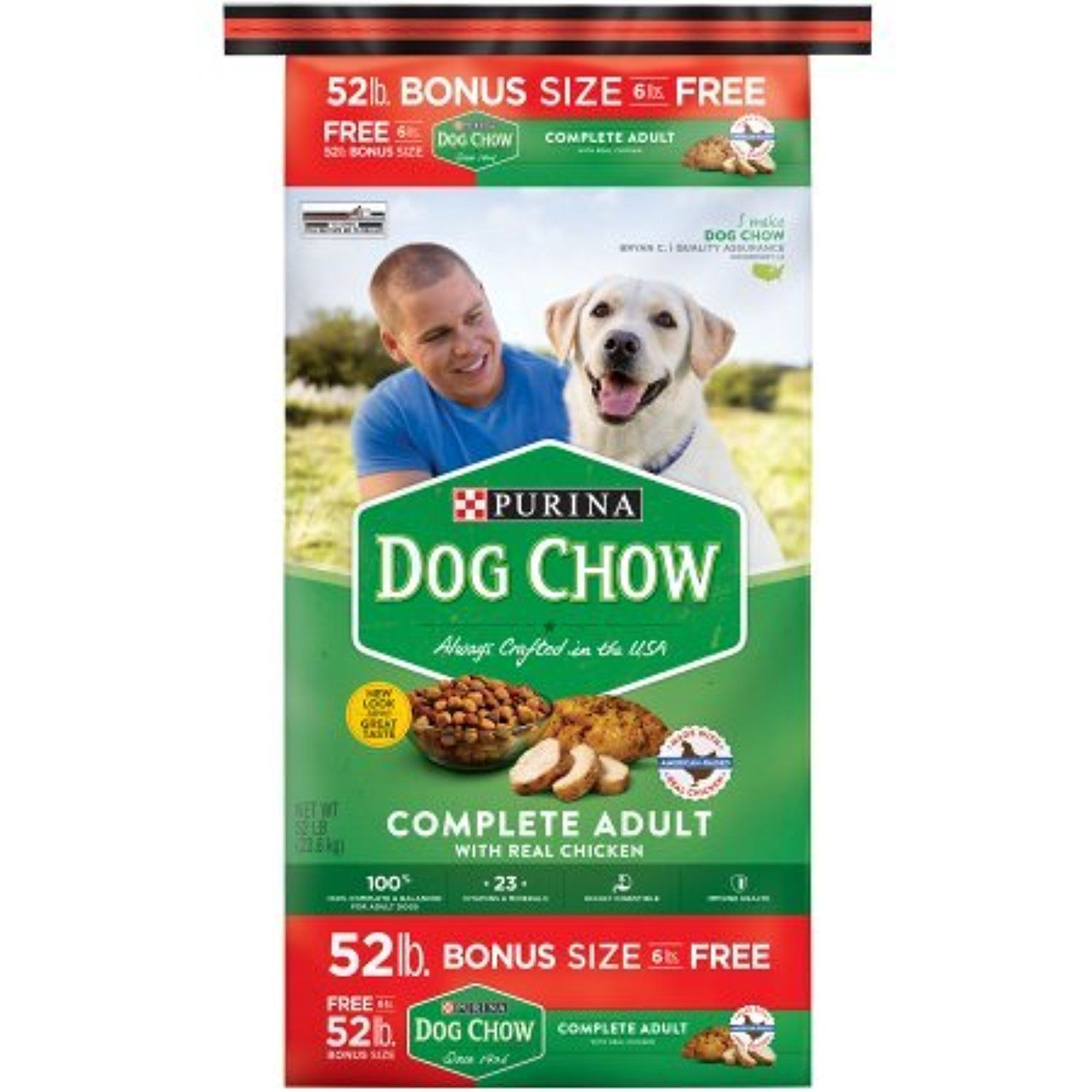 Purina Dog Chow Complete Adult Dry Dog Food 52 Lb You Can Get