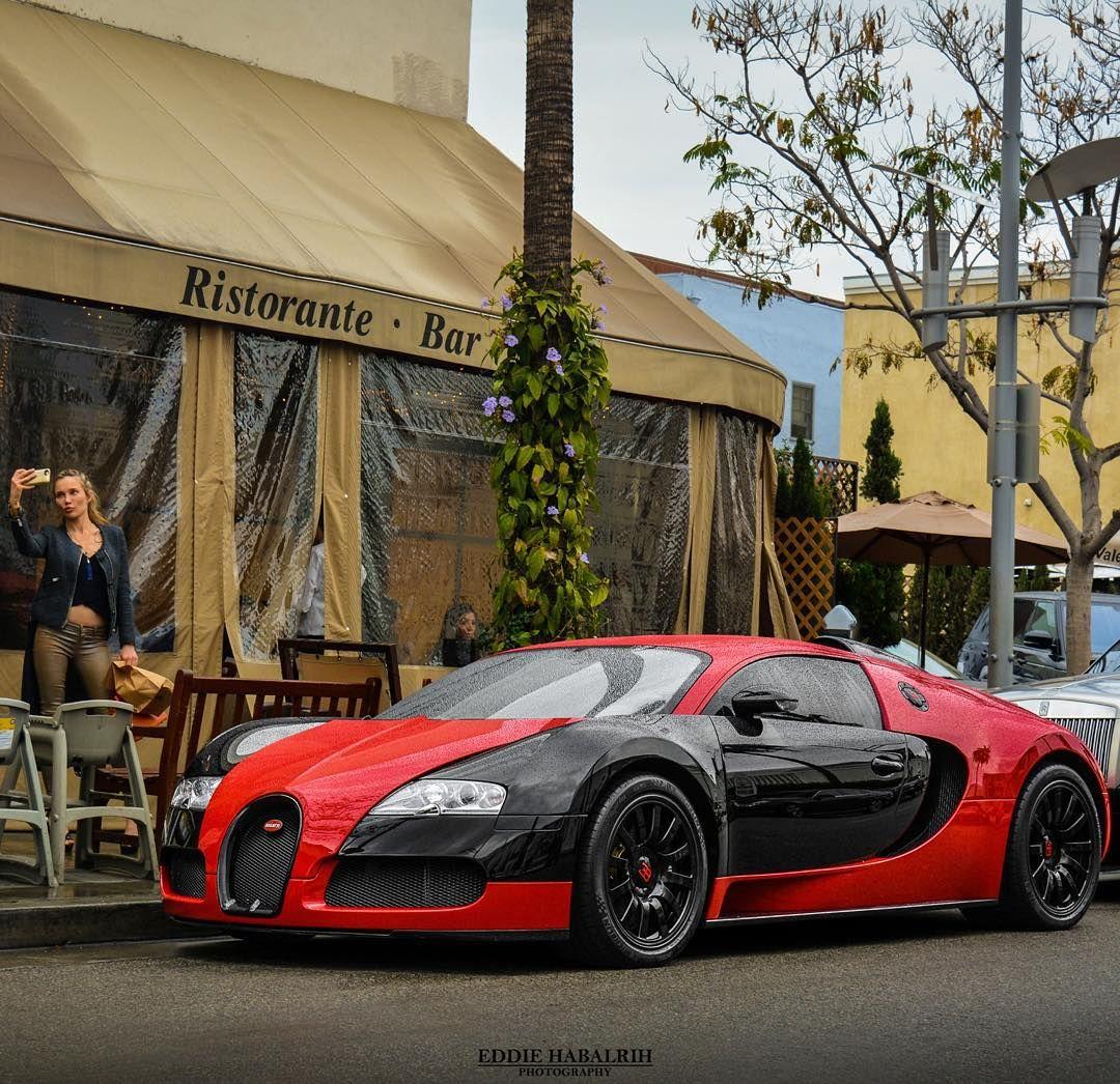 #Bugatti #Veyron #BeverlyHills #Selfie By Cali.exotics