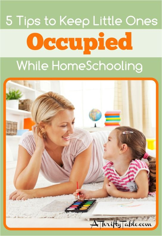5 Tips to Keep Little Ones Occupied While HomeSchooling