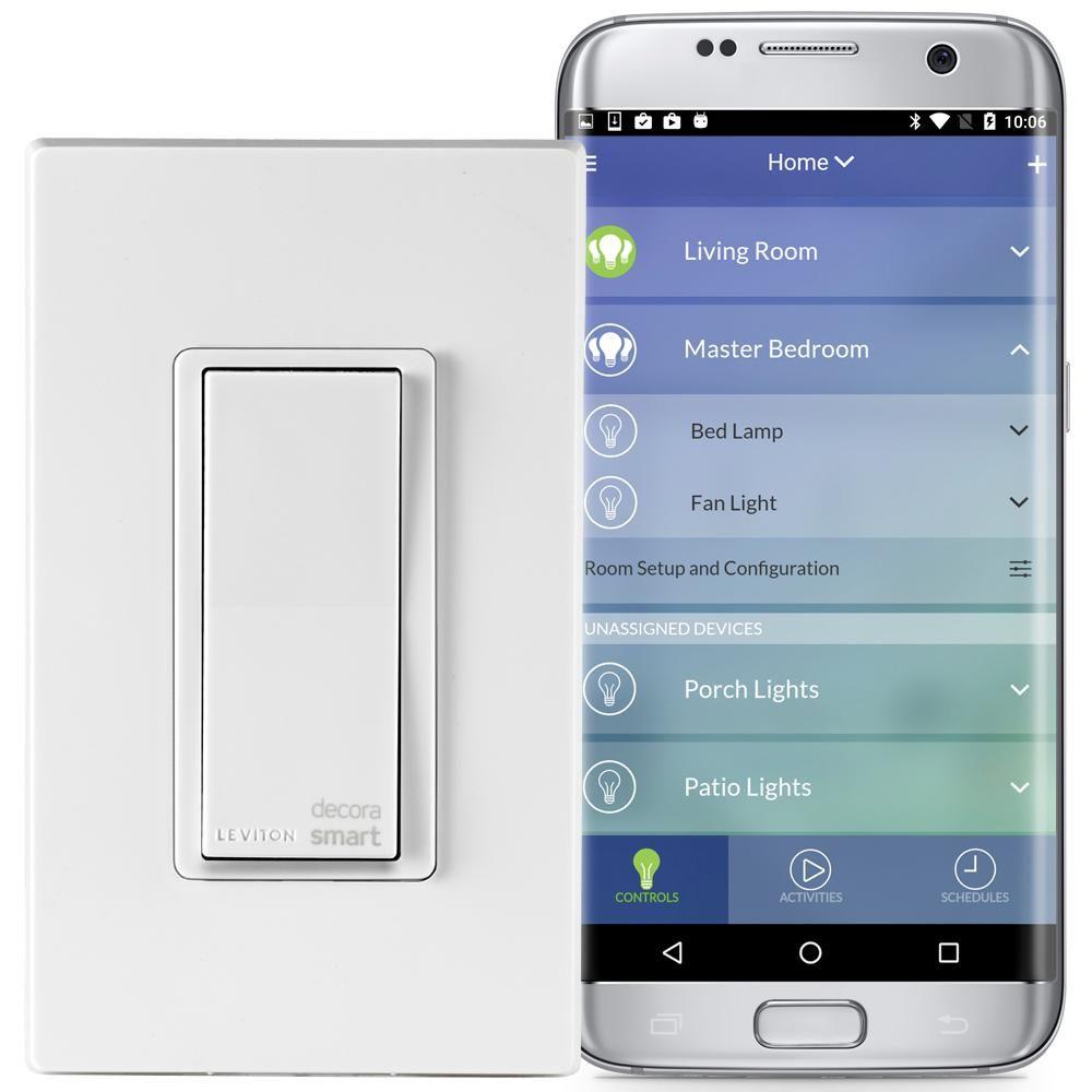 Leviton Decora Smart WiFi 15 Amp Universal LED