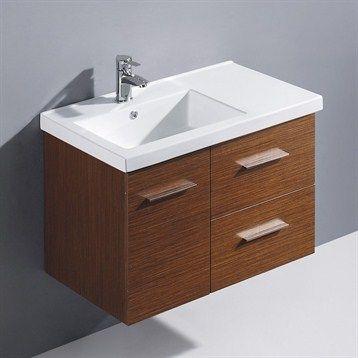 Moderna Trio Single Bathroom Vanity