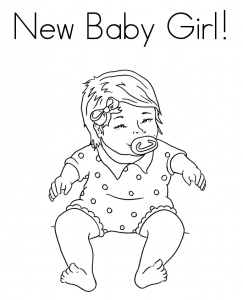 baby girl coloring pages Baby Girl Coloring Page | Free Coloring Pages For Kids | Baby  baby girl coloring pages