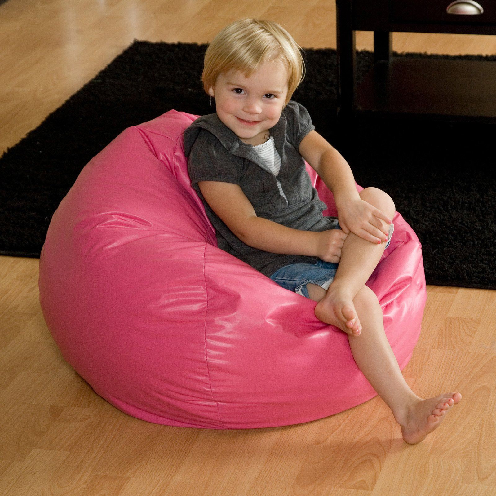 Have to have it. Anywhere Vinyl Lounger Bean Bag Chair
