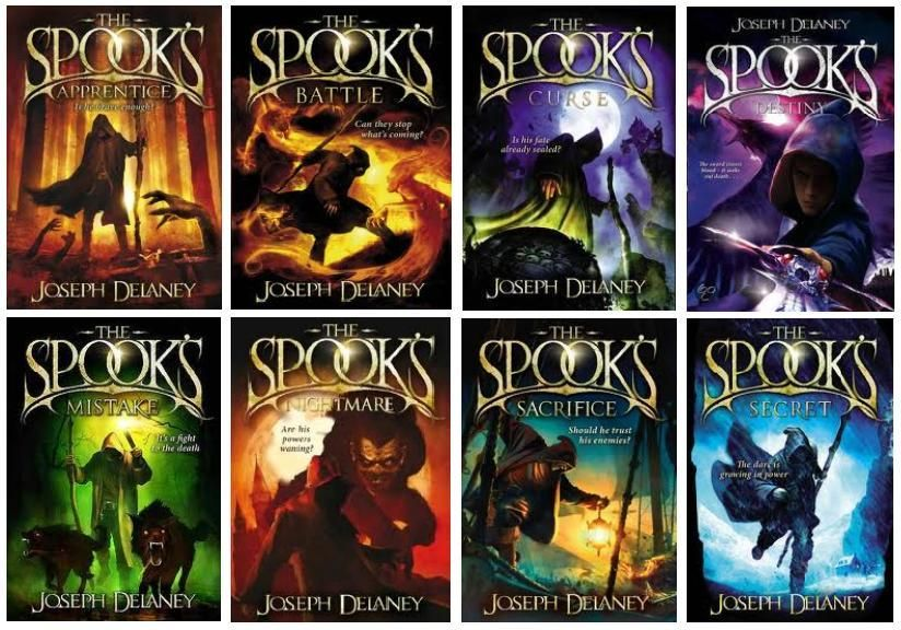 16++ Books like the last apprentice series info