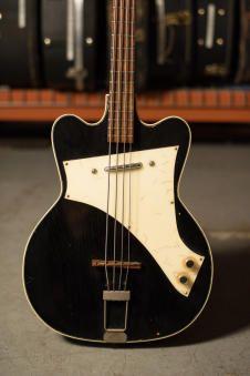 1960 Kay K5970 Jazz Special Bass owned by Jeff Tweedy of Wilco