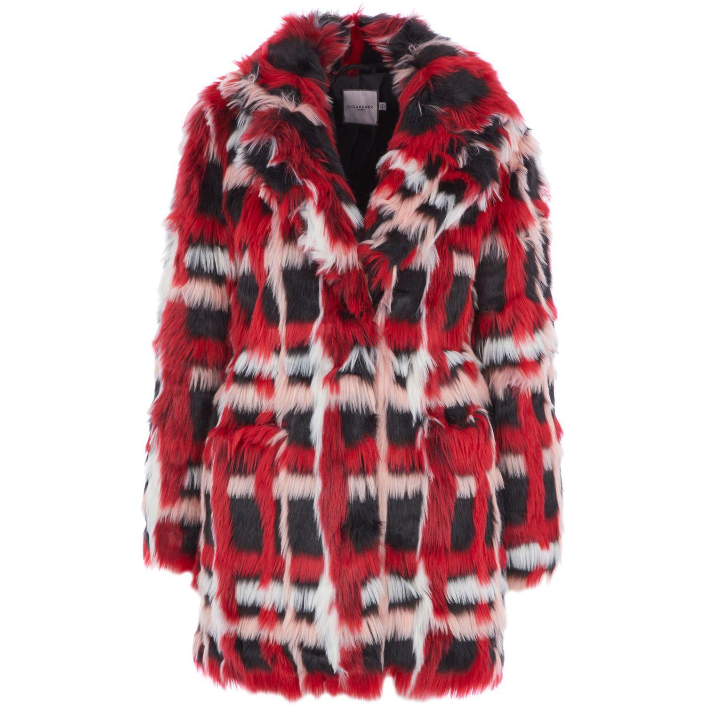 738b22487eec Red Berry Faux Fur Coat - Coats - Jackets & Coats - Clothing - Women - TK  Maxx