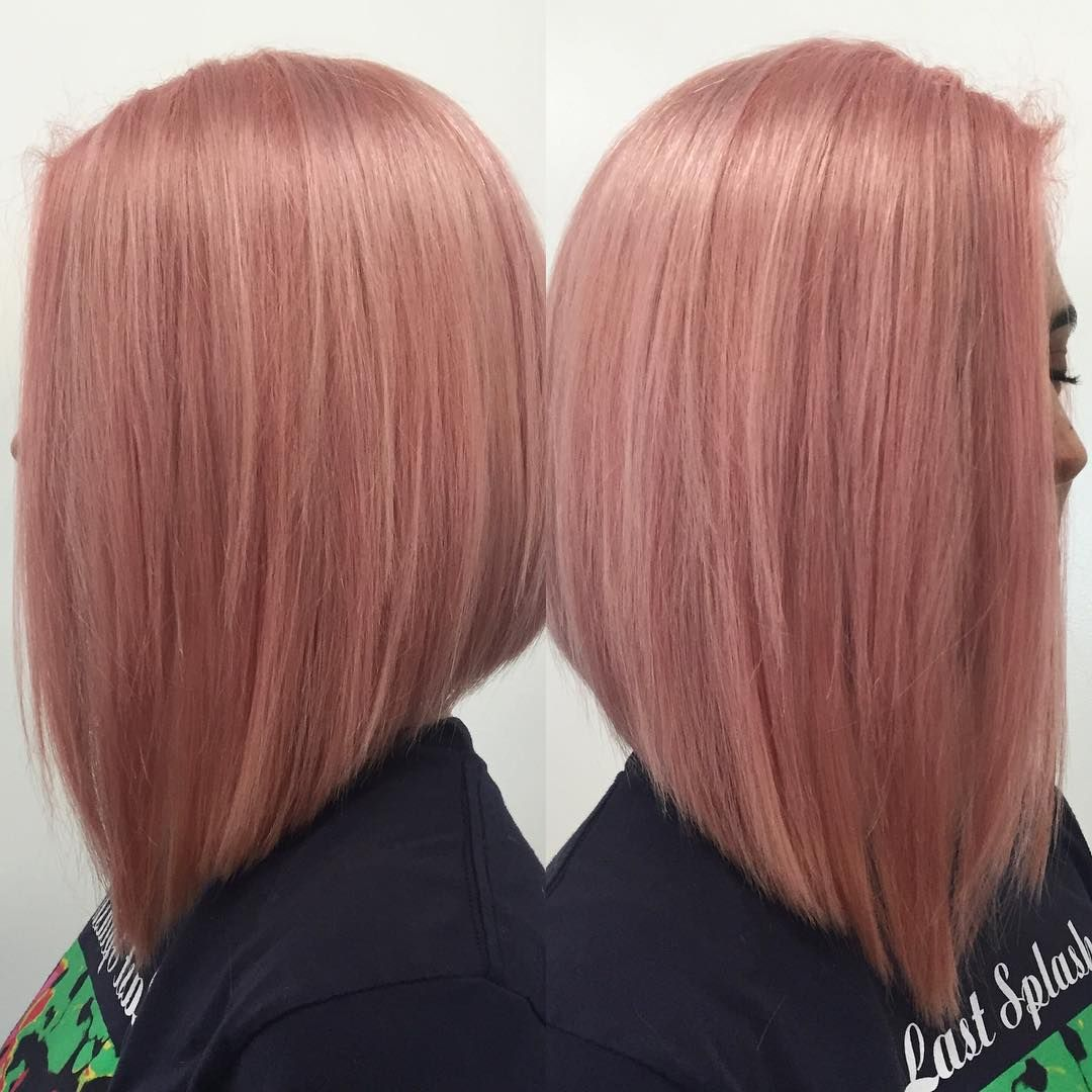 PINK BOB   Beautiful #pinkbob done by #colorist @cherylann_shag and #bob #haircut done by #stylist @mosellesathhair! #pinkhair #bobhaircut #shorthair #bostonstylist #bostonsalon #bestofboston @modernsalon @bangstyle @oribe