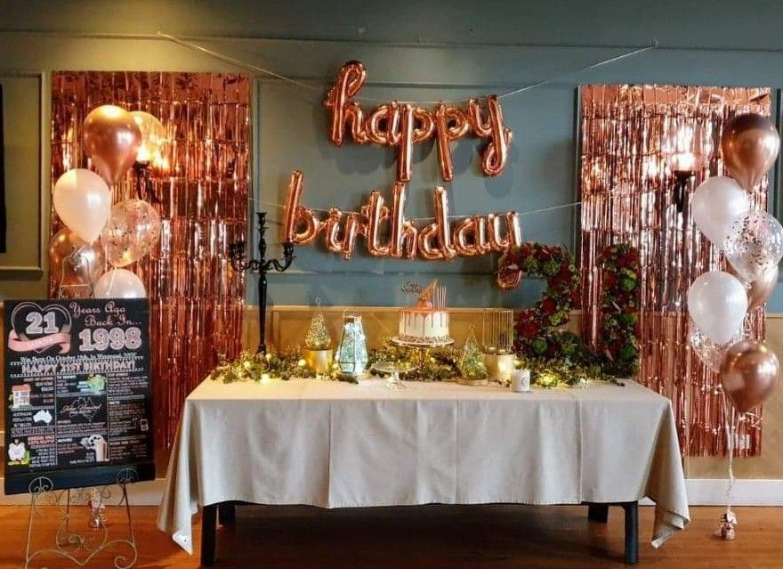 Pin by Trish on 21st birthday (With images) Decor, Table
