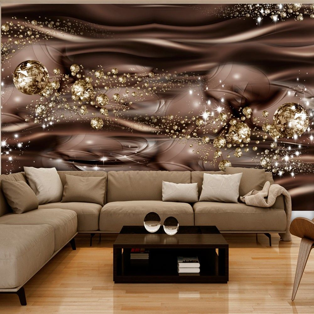 Wallpaper Chocolate River 3d Wallpaper Mural 3d Wallpaper