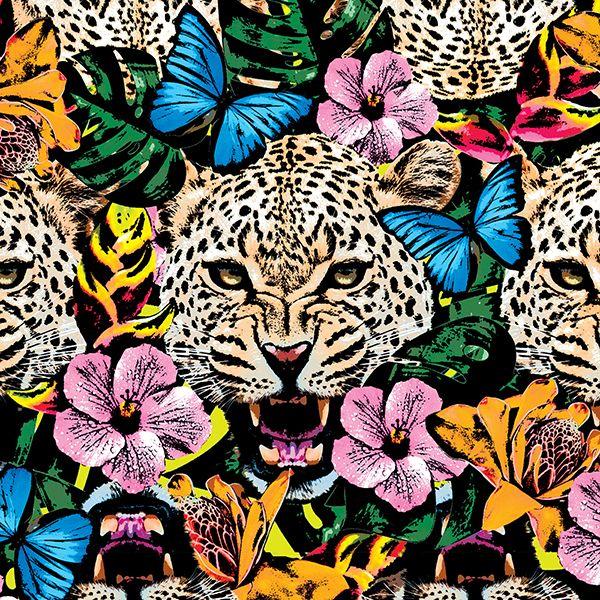 Jungle Print by Marica Zottino, via Behance #tropicalpattern