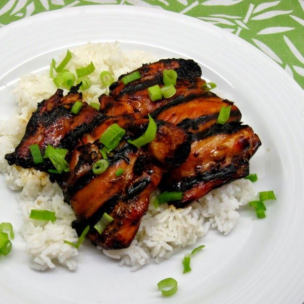 Grilled Chicken Thighs: 2T Soy Sauce, 2.5T Honey Or Brown