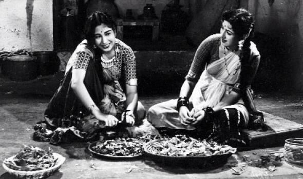 Madhubala in first Naya Daur