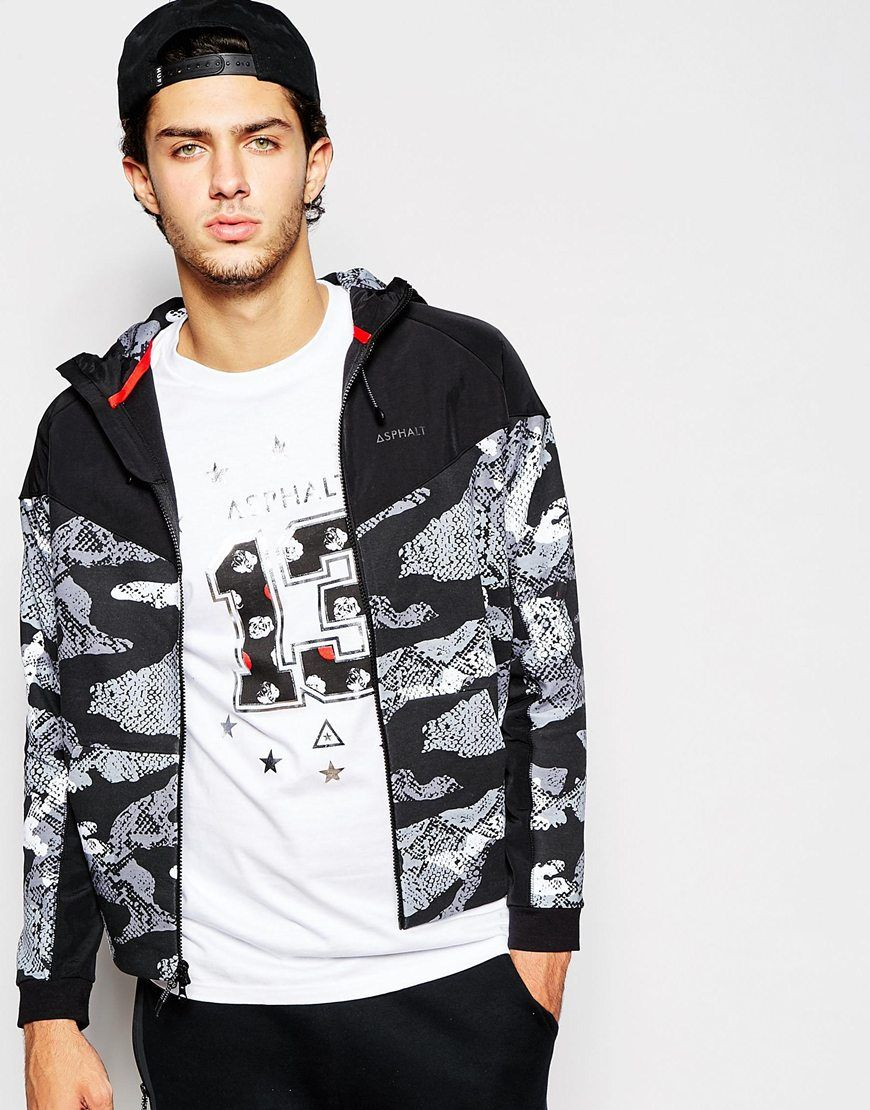 Asphalt Yacht Club Hoodie With Snake Print Panel | New York City |  Pinterest | Yacht club, Snake print and Men's fashion
