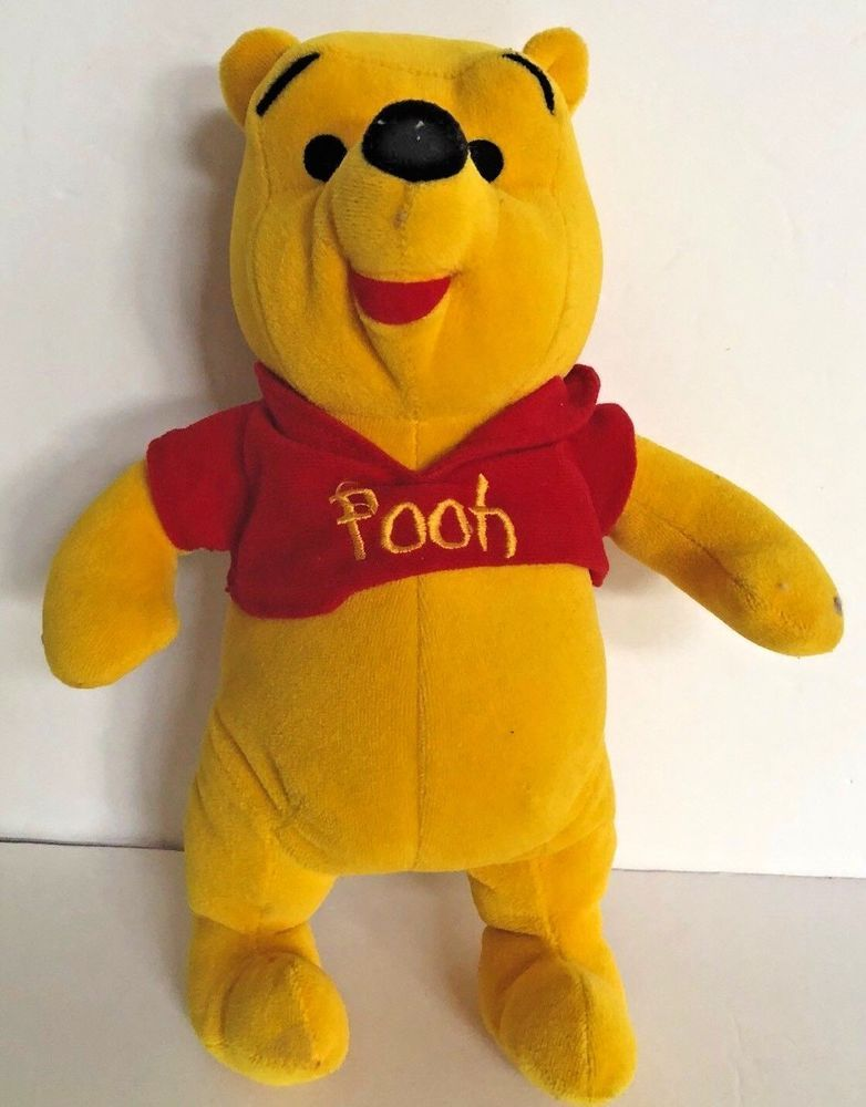 "7ff82c5c713f Disney Winnie The Pooh Baby Pooh Bear Plush 11"" Plush Stuffed animal  Disney"
