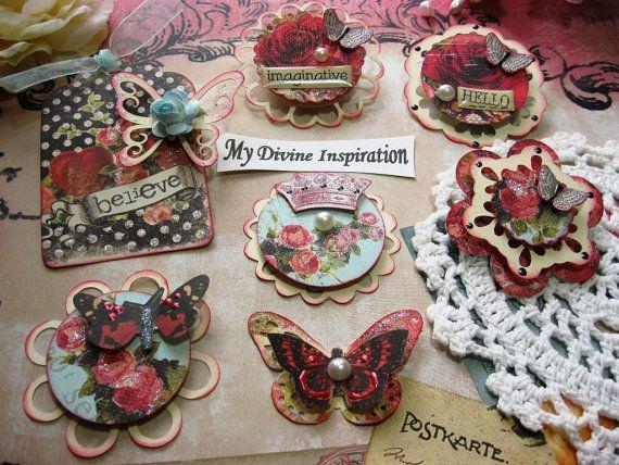 creative imaginations iod handmade scrapbook