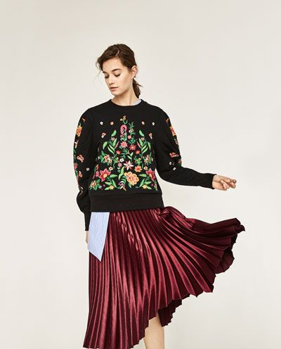 77b7053640 Skirts Women   New Collection   ZARA Romania   Moda