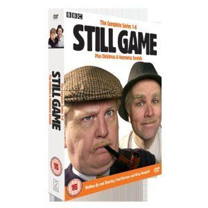 STILL GAME - THE COMPLETE SERIES 1 TO 6 INCL. CHRISTMAS AND HOGMANAY SPECIALS [NON-USA Format / Import / Region 2 / PAL] ***** NON-U.S.A. FORMAT: PAL + Region 2 + U.K. Import ***** http://smile.amazon.com/dp/B0041OBAO6/ref=cm_sw_r_pi_dp_B5NVub0XKVEP7