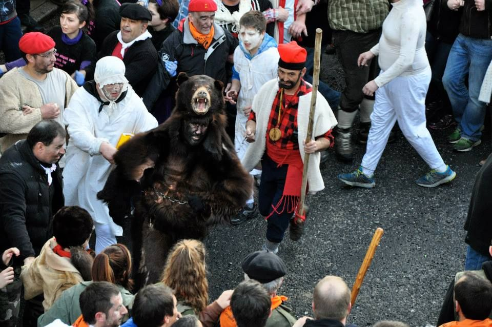 la fiesta del oso en Saint Laurent Cerdans. Foto: Sud Canigó