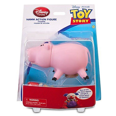 17.99) Toy Story Hamm Action Figure with Build Chuckles Part From ...
