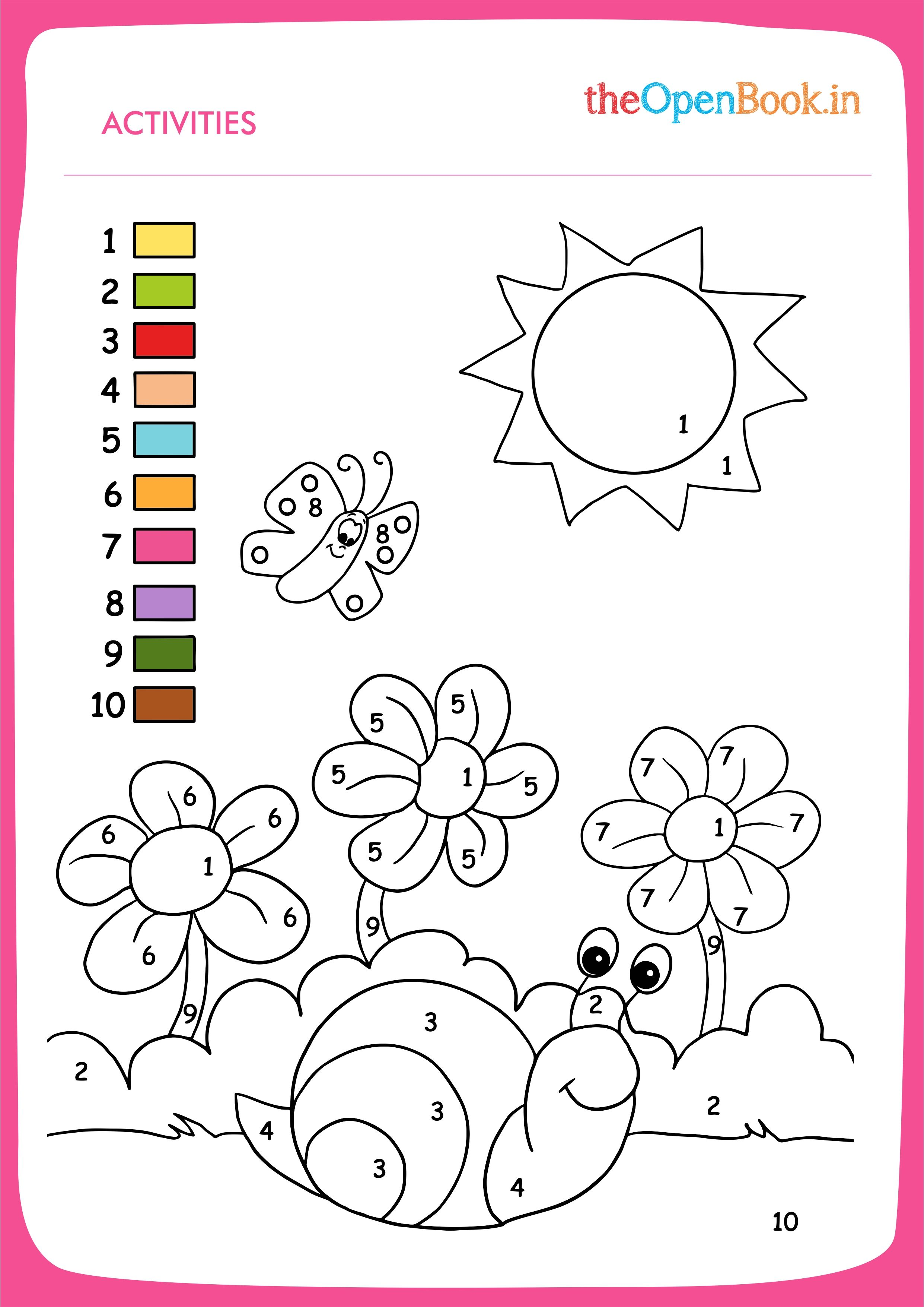 Pin By Thenewopenbook On Printable Activities For Kids