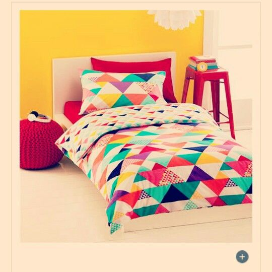Loving This Colourful Geometric Bedspread I Spotted In Kmart S