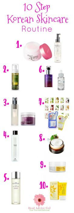10 Step Korean Skin Care Routine Real Advice Gal Korean Skincare Korean Skincare Routine Aging Skin Care