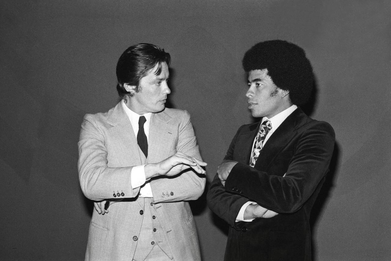 Alain Delon et Jairzinho 1975 AF s Football Idols