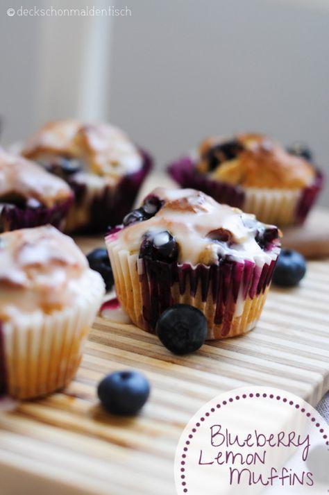 """Zitronen-Blaubeer-Muffins – oder """"Süße Sonntags Sünde"""""""