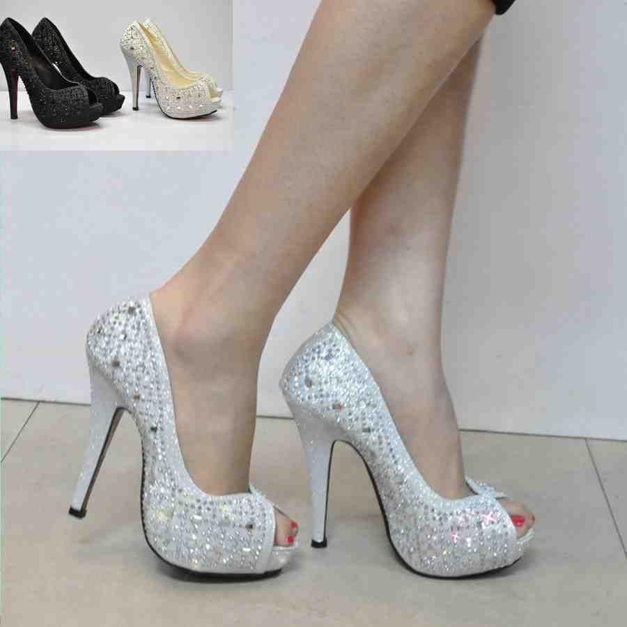 Silver Dress Shoes For Wedding Womens Wedding Shoes Brides Maid Shoes Bridal Wedding Shoes