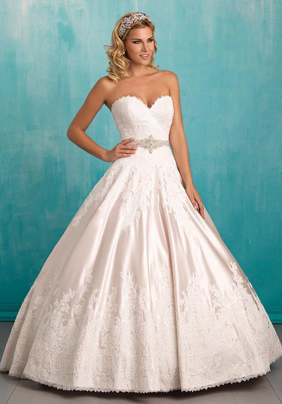 Allure Bridals 9303 Wedding Dress - The Knot | wedding dresses ...