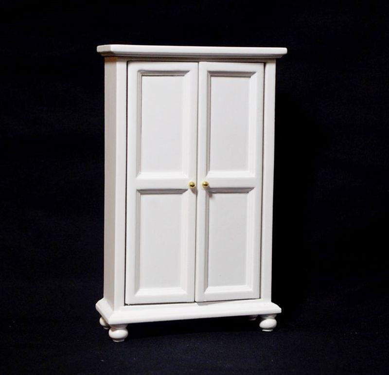Angebot Schrank Holz weiß Flur Diele Schlafzimmer Puppenhaus - Schlafzimmer Landhausstil Weiß