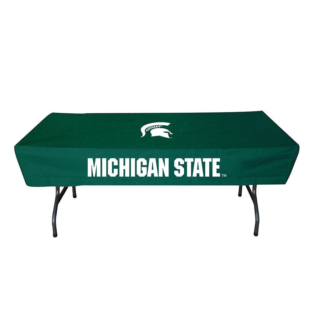 Michigan State Spartans NCAA Ultimate 6 Foot Table Cover