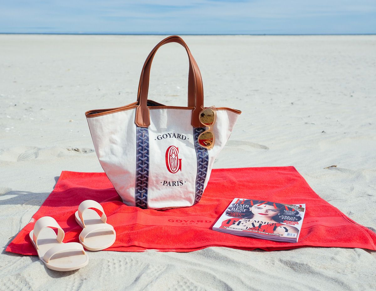 eab5e2294cb4 From Goyard to Kate Spade—Here Are the Best Designer Beach Bags At Every  Budget - PurseBlog