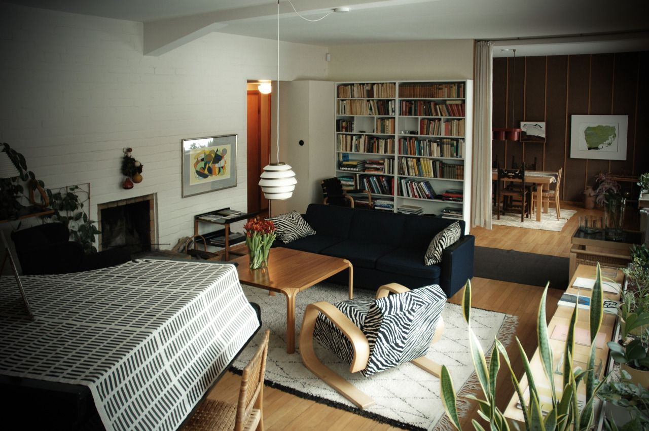 Alvar aalto house interior aaltous house helsinki  spaces  pinterest  helsinki and house