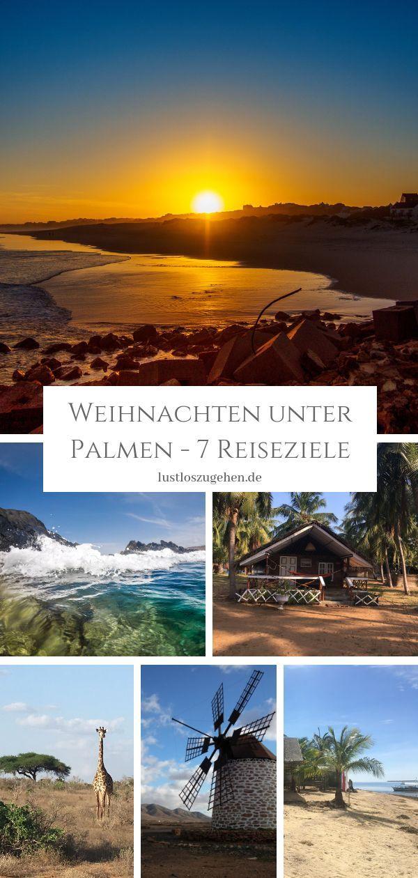 Weihnachten unter Palmen – 7 Reiseziele