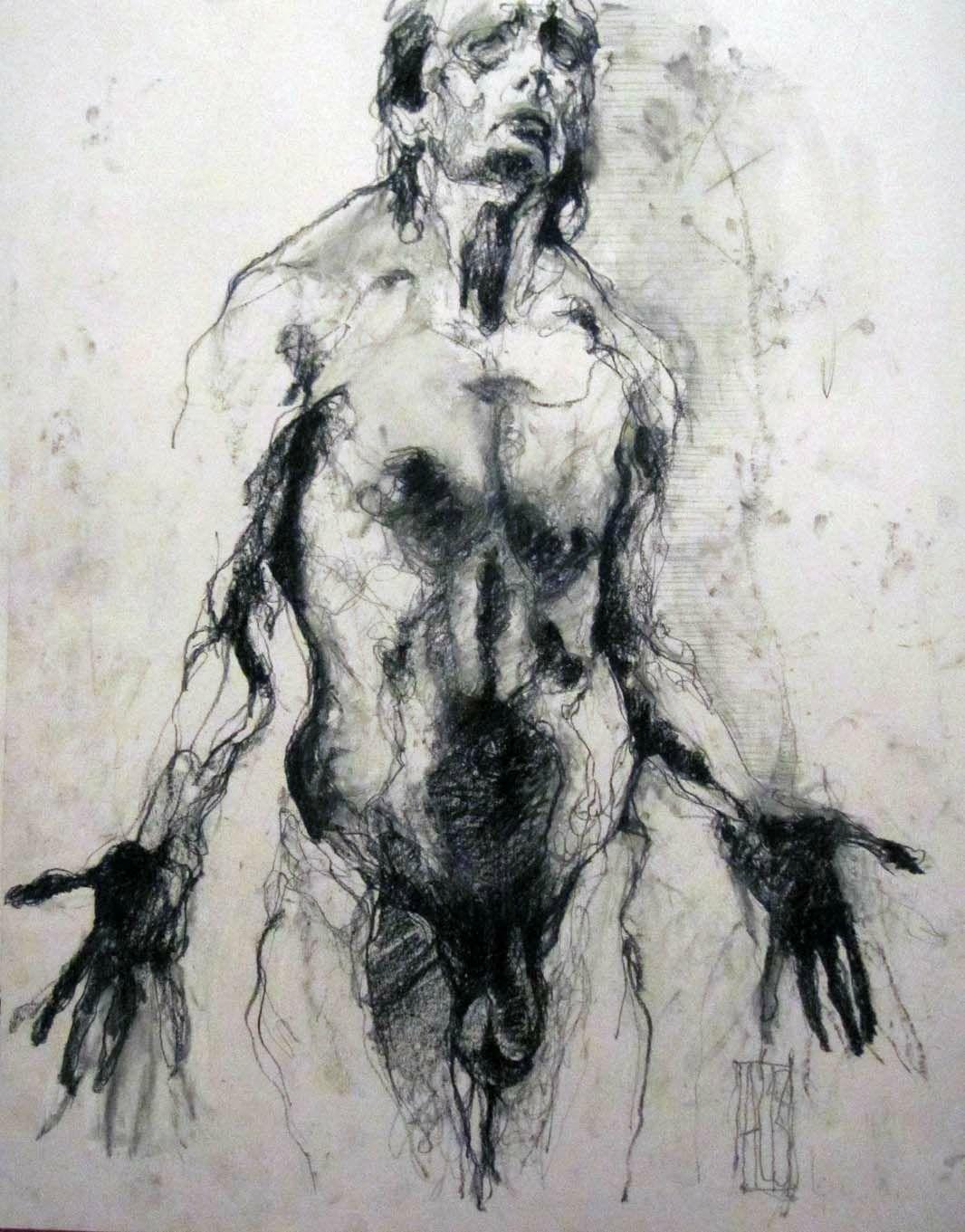 Complainte D Un Homme Aurore Lephilipponnat Artiste Peintre