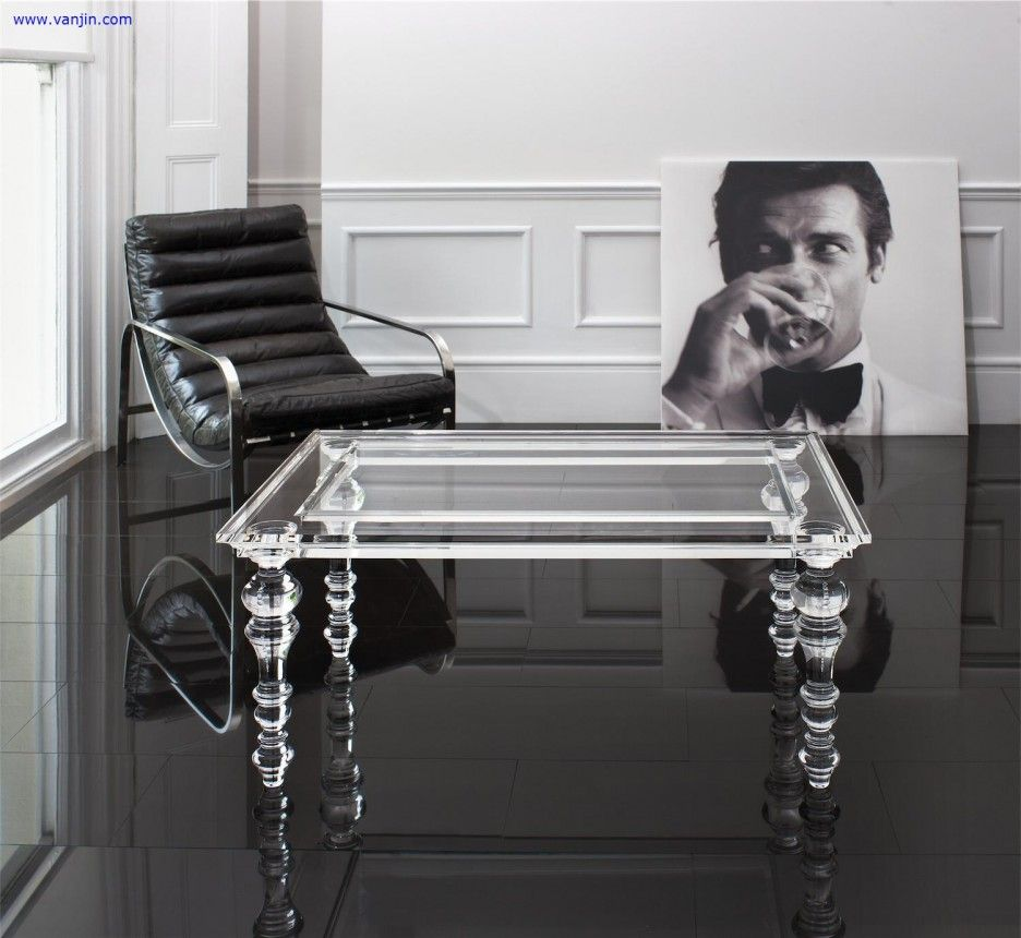 Acrylic Coffee Table The Ghost