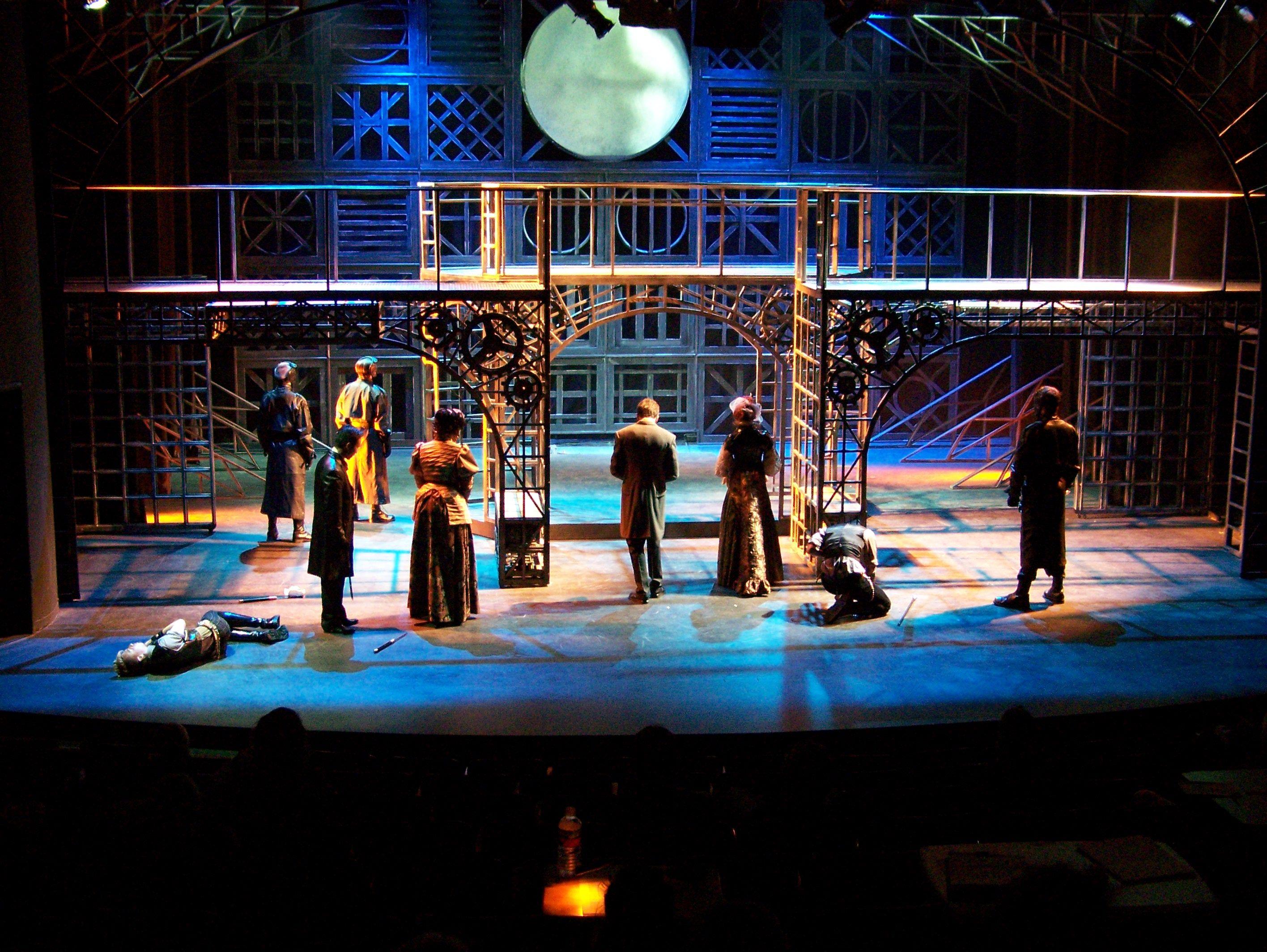 Romeo And Juliet Lighting Design By Kalliope Vlahos Stage Lighting Design Lighting Design Theatre Set Design Theatre