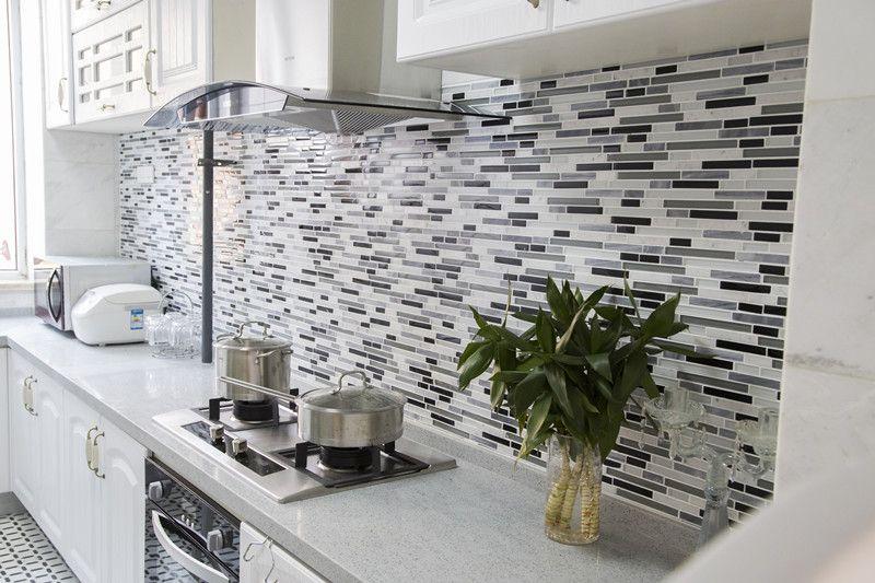 Kitchen mosaic century mosaic - Losas para cocinas ...