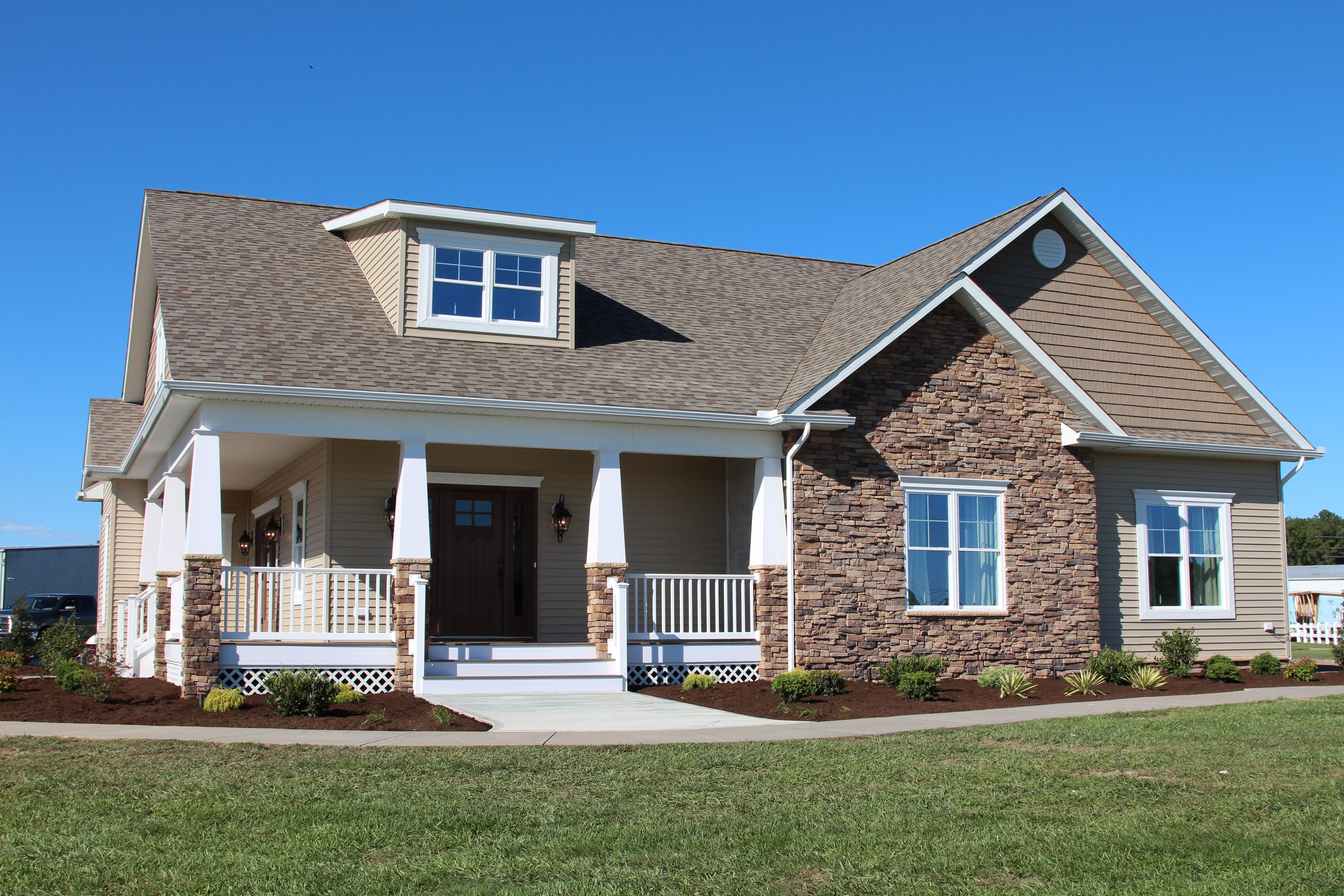 beracah homes new model home the greenwood craftsman